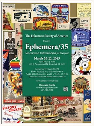 Ephemera 35 - International Vintage Paper Fair and Conference