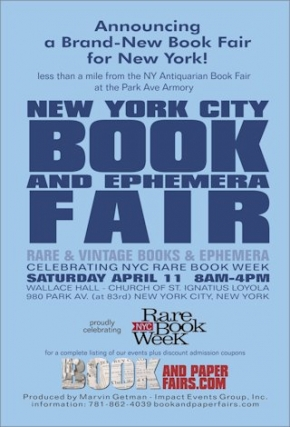 New York City Rare Book and Ephemera Fair