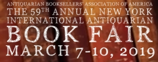 2019 - New York International Antiquarian Book Fair