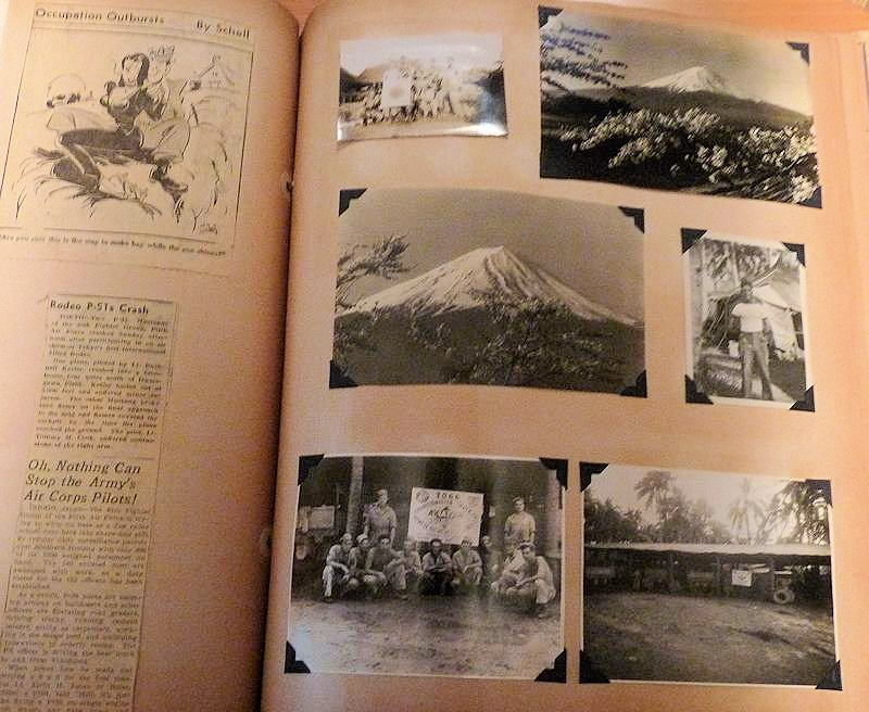 5th Air Force World War Two Scrapbook 1942 1945 Private Melvin A