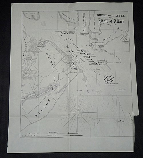 Order of Battle and Plan of Attack: Nov 7th 1861 [The Battle of Port Royal). Unlisted.