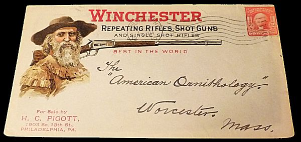 Winchester Repeating Rifles Advertising Envelope. Unlisted.