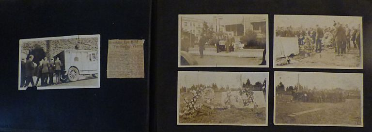 Photograph album documenting six years in the life of an itinerate west coast laborer, whaler, and general seaman. Henry A. Deneen.