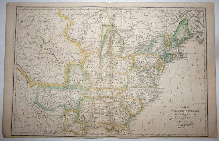 The United States from Worcester's Modern Atlas. H. Morse.