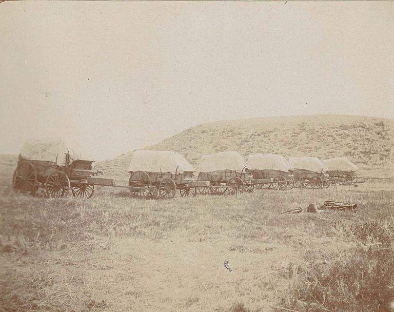 A photographic archive of the 8th Infantry Regiment at Fort D. A. Russell in Wyoming. Photographs related to General Russell C. Langdon, Henry C. Langdon, then Lieutenant.