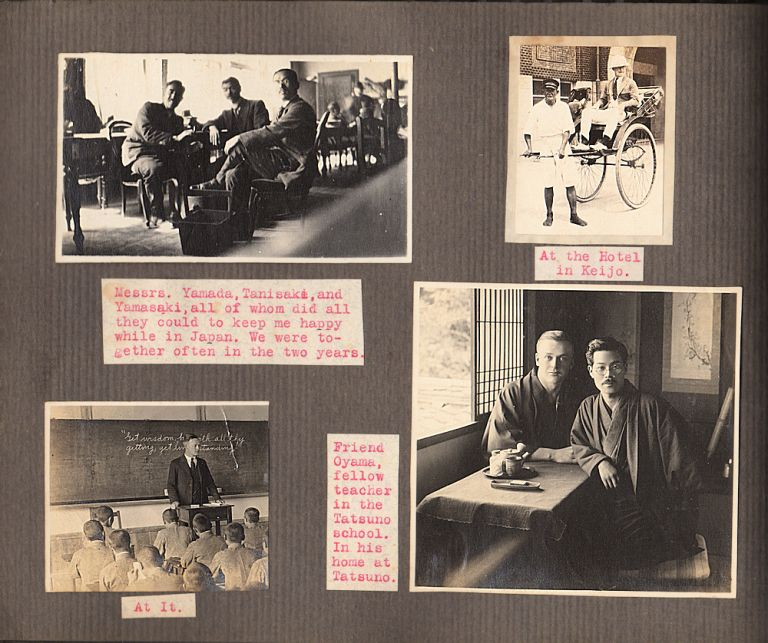 """""""'QUITE A JAP"""" - Photo-Journal documenting an American teacher's employment in Japan and the destruction caused by the Great Kanto Earthquake. Charles Kenneth Lawyer."""