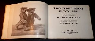 Two Teddy Bears in Toyland