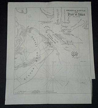 Order of Battle and Plan of Attack: Nov 7th 1861 [The Battle of Port Royal). Unlisted