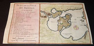 Plan De La Ville De Boston [Map of the City of Boston]