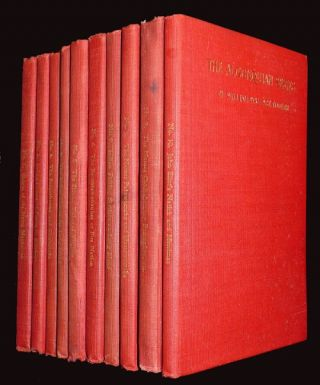 The Algonquian Series (10 volumes). William Wallace Tooker.
