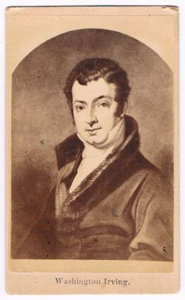 Washington Irving - CDV. CDV