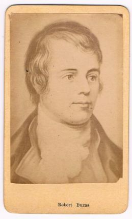 Robert Burns - CDV. CDV