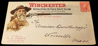 Winchester Repeating Rifles Advertising Envelope. Unlisted