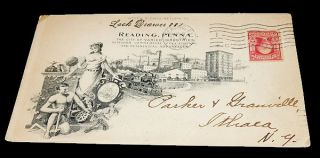 Advertising Envelope for the City of Reading, Pennsylvania. Unlisted
