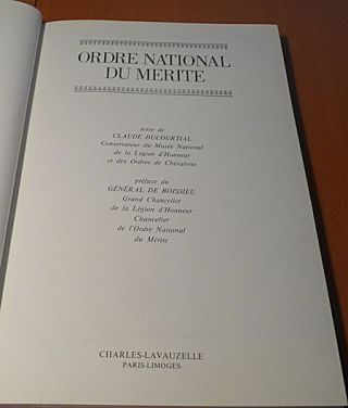 Ordre National Du Merite