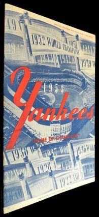 New York Yankees Scorecard - 23 April 1953 vs Boston. Unlisted.