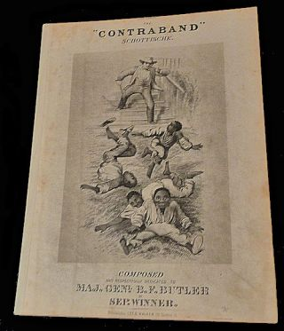 The Contraband Schottische - Sheet Music. Sep Winner, Septimus