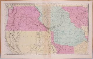 Western Territories of the United States. Unidentified.