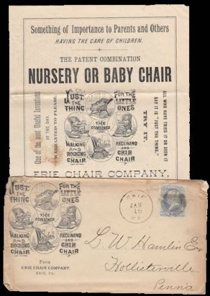 Baby Buggy Advertising, Catalog, and Illustrated Envelope. Unattributed Author.
