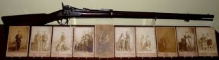 Soldier's Native American Photo Collection and Service Rifle