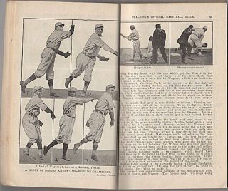 Spalding's Official Base Ball (Baseball) Guide: Thirty-Seventh Year: 1913, Spalding's Athletic Library Group 1. No. 1
