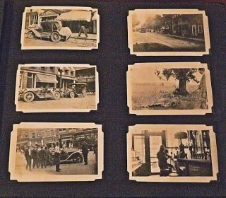 New England Photograph Album featuring the Army's 531st Balloon Company at Boston circa 1921.