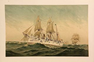 Old Naval Prints (Our Navy, Its Growth and Achievements)