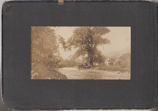 Photograph Album Documenting Middleclass Life in Vermont circa 1905. Unidentified Photographer.