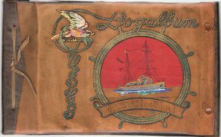 Photograph Album Documenting the 1934 Arctic Cruise of the U.S. Coast Guard Cutter, USCGC Northland.