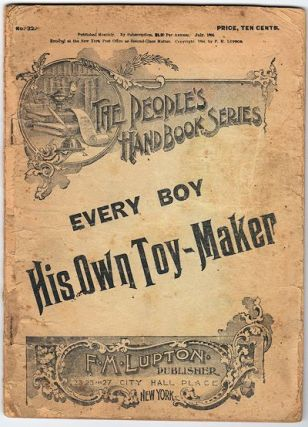 Every Boy a Toy-Maker. Unlisted Author.