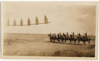 Photograph Collection Documenting the 13th Cavalry Regiment on the Mexican Border