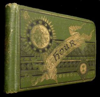 Illustrated Autograph Book - 1885. Florence Deane.