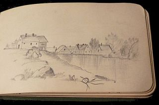 Illustrated Autograph Book - 1885
