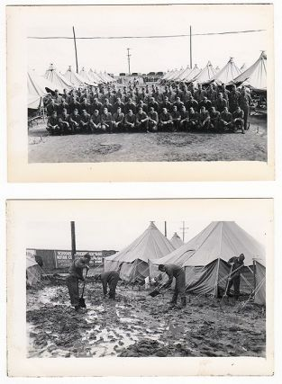 Coastal Artillery Battery Journal with Real Photo Postcards