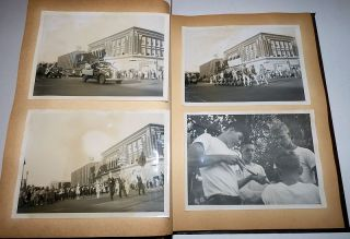 "Rochester (Minnesota) Senior High School ""Atomic Age"" Homecoming Parade Photograph Album"