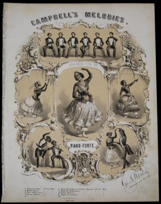 Bella Rosa [Sheet Music]. The Campbell Minstrels.