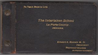Photograph Album Documenting Life at The Interlaken School