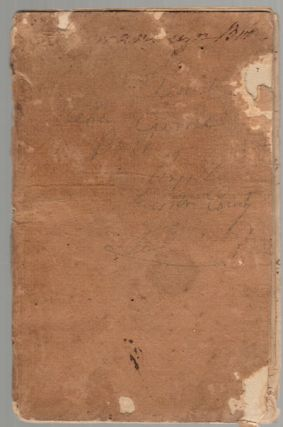 War of 1812 Manuscript Memorandum Book