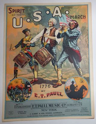 Spirit of the U.S.A. March: 1776