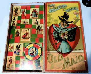 The Merry Game of Old Maid
