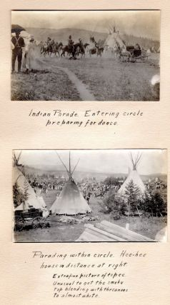 Photograph Album Documenting Life on the Sac & Fox and Colville Indian Reservations.