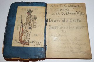 African-American Soldier's Handwritten Mexican Border Journal: Diary of a Crute Buglar in the Army