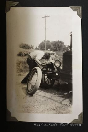 Photograph Album Documenting Three Cross-Country Automobile Trips