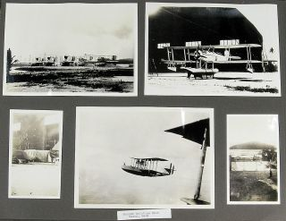 Photograph Album documenting life in one of the first Marine Aviation Squadrons to be stationed in the Pacific and its follow-on deployment to China to protect the International Settlement at Shanghai during the Chinese Civil War