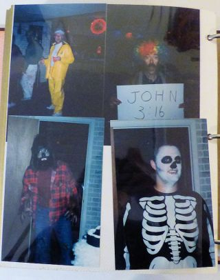 Politically Incorrect Halloween Photograph Album