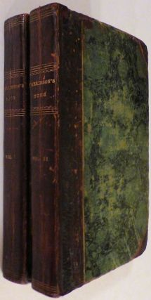 A Tour in America in 1798, 1799, and 1800. Exhibiting Sketches of Society and Manners, and a Particular Account of the American System of Agriculture With its Recent Improvements (two volumes)
