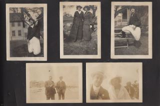 Photograph album including 20 images of a drug store