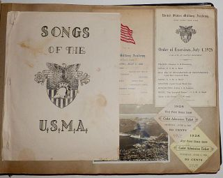 West Point Photograph Album and Scrapbook