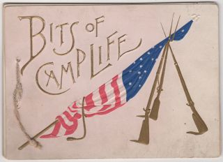 Bits of Camp Life. Written, illustrated Louis K. Harlow, C. W. Reed