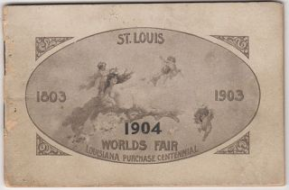 Late 19th-century view book of St. Louis, Missouri, titled, St. Louis . . . The Metropolis of the Mid-Continent, and the City Selected by the States in the Louisiana Purchase as the Site of The Great World's Fair in 1903.
